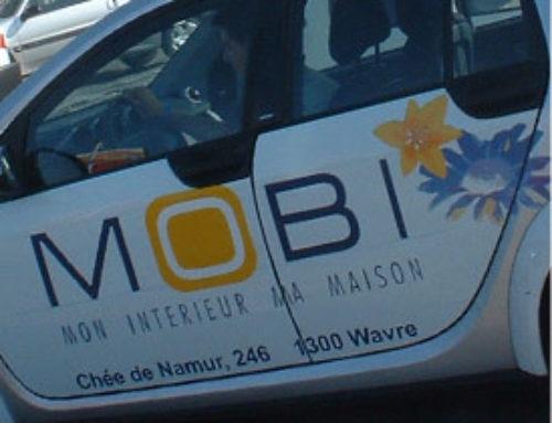 Lettrage Véhicule Printex Smart Mobi